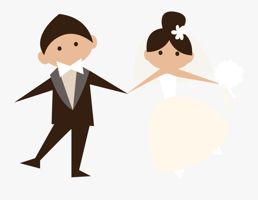 Image Free Stock Png Pinterest Weddings And Doll Printable - Wedding Couple Clipart Png, Transparent Clipart
