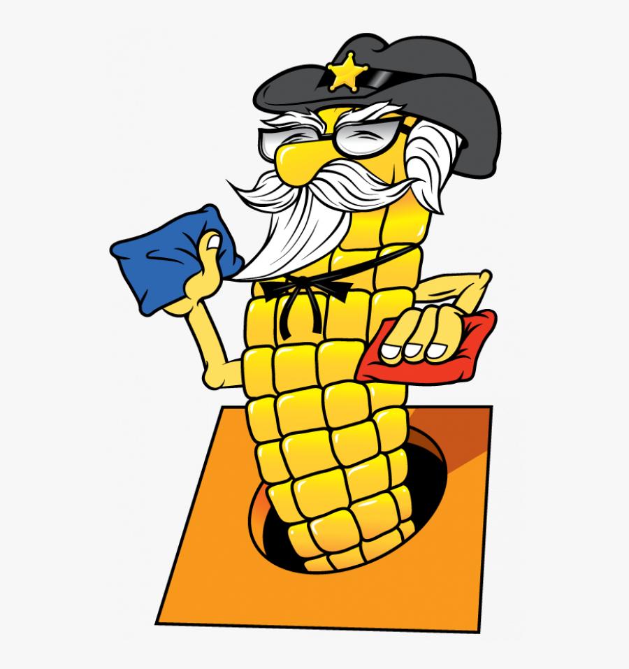 Corn Hole Clipart Images Transparent Png - Cartoon Of Corn Hole, Transparent Clipart