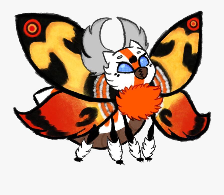 Monarch Butterfly Butterfly Clip Art Monarch Butterfly - Mothra Kawaii, Transparent Clipart