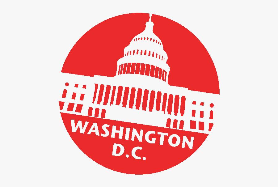 Washington D - C - Icon - Transparent Washington Dc Flag, Transparent Clipart