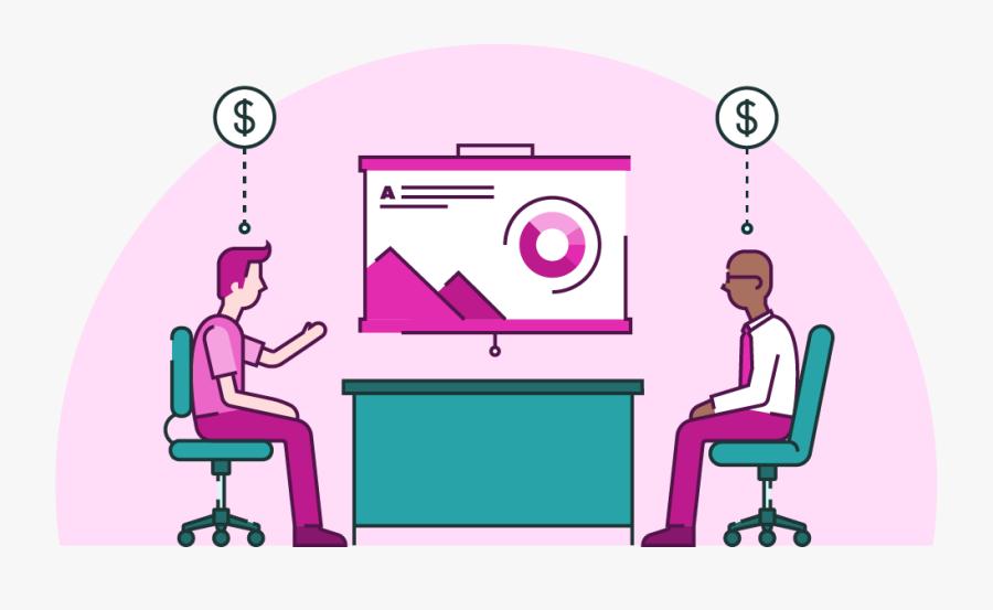 Presentation Clipart Salesmanship - Sales Presentation Png, Transparent Clipart