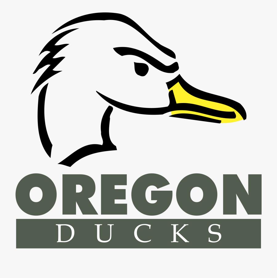 Duck,beak,bird,ducks, Geese And Swans,water Bird,coloring - Transparent Ducks Logo Oregon Ducks Png, Transparent Clipart