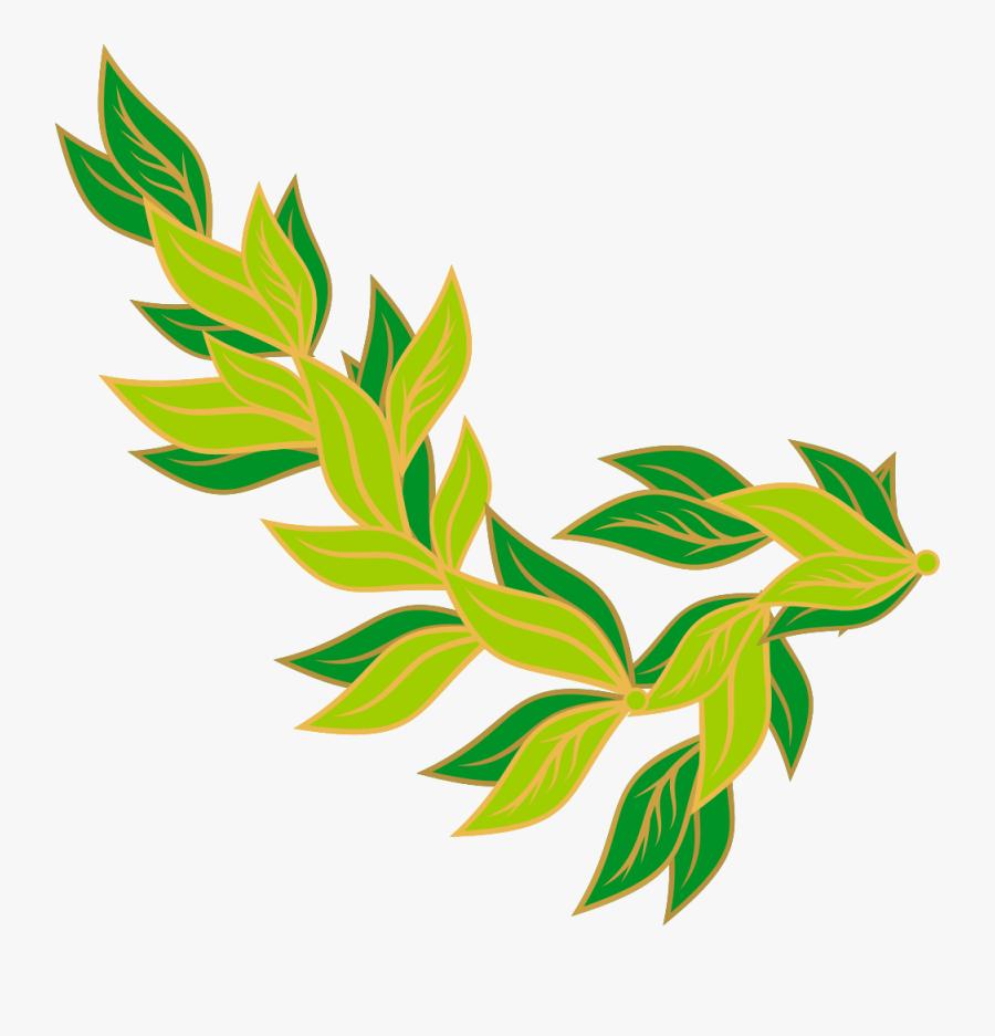 Autumn Borders Clip Art Pelautscom - Green Leaves Border Clip Art, Transparent Clipart