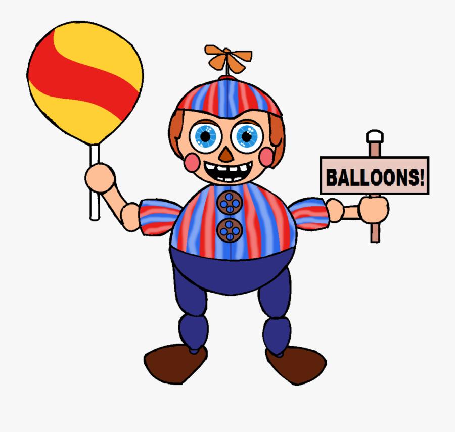 Ballon Drawing Seller Clipart Stock - Balloon Boy Fnaf Easy Drawings, Transparent Clipart