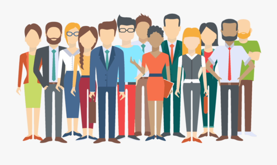 5 Reasons Diversity In The Workplace Is Good For Your - Group Of People Illustration Png, Transparent Clipart