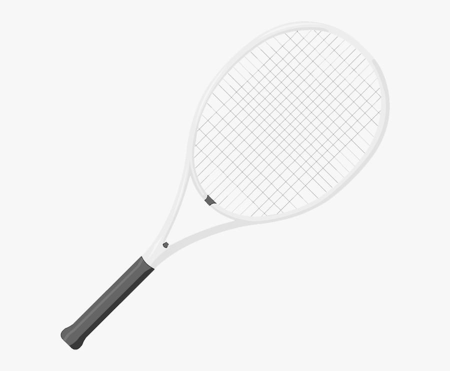Tennis Racquet Transparent Background, Transparent Clipart