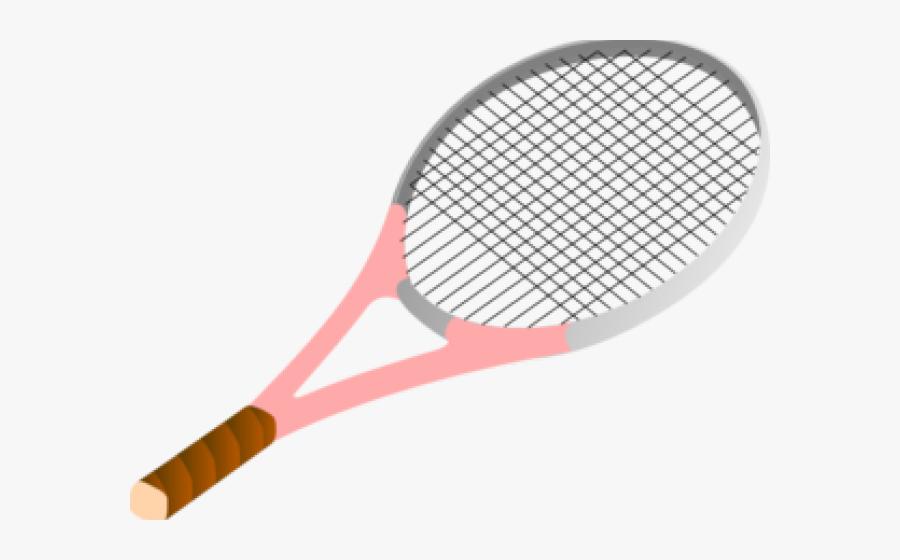 Tennis Ball Clipart Pink - Tennis Racket Clipart, Transparent Clipart
