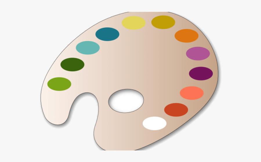 Paint Palette Clipart - Palette Transparent Painting Clipart, Transparent Clipart