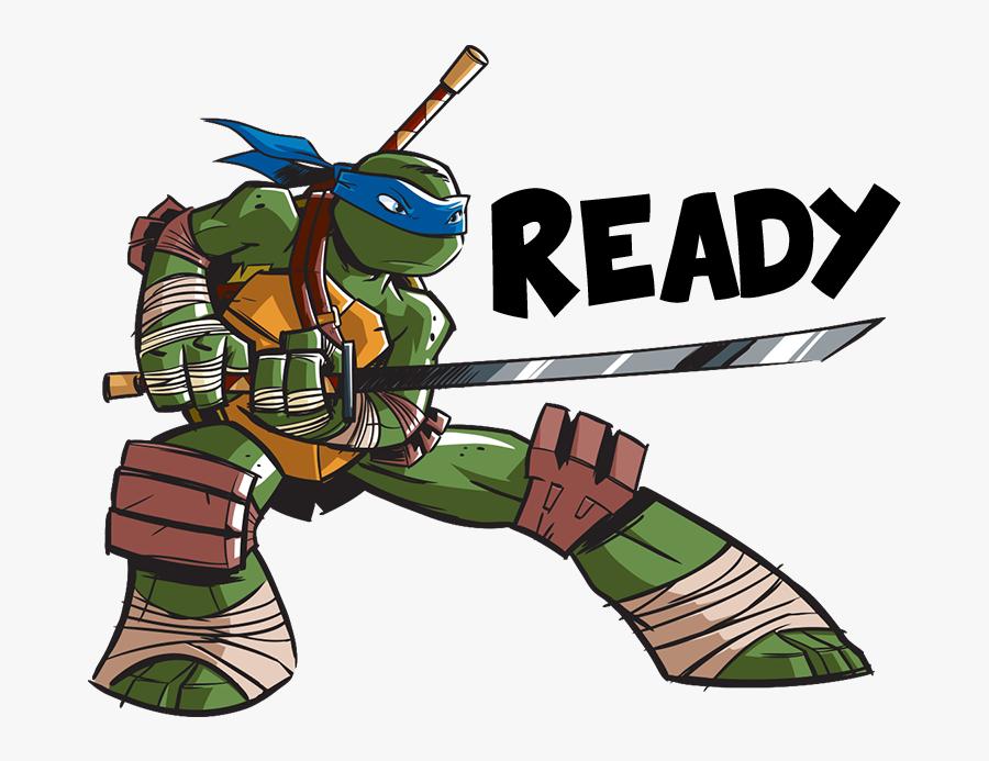 Leonardo Teenage Mutant Ninja Turtles Nickelodeon Sticker - Teenage Mutant Ninja Turtles Leonardo Nickelodeon, Transparent Clipart