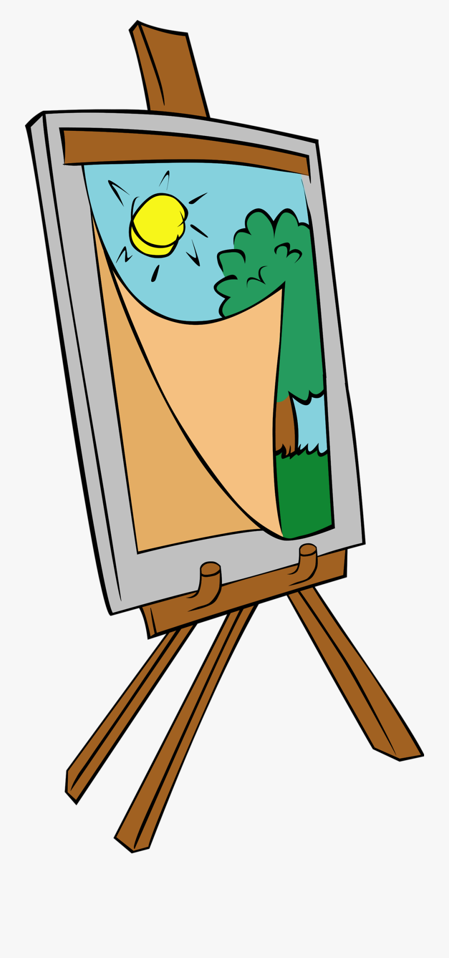 Painting Clipart, Transparent Clipart
