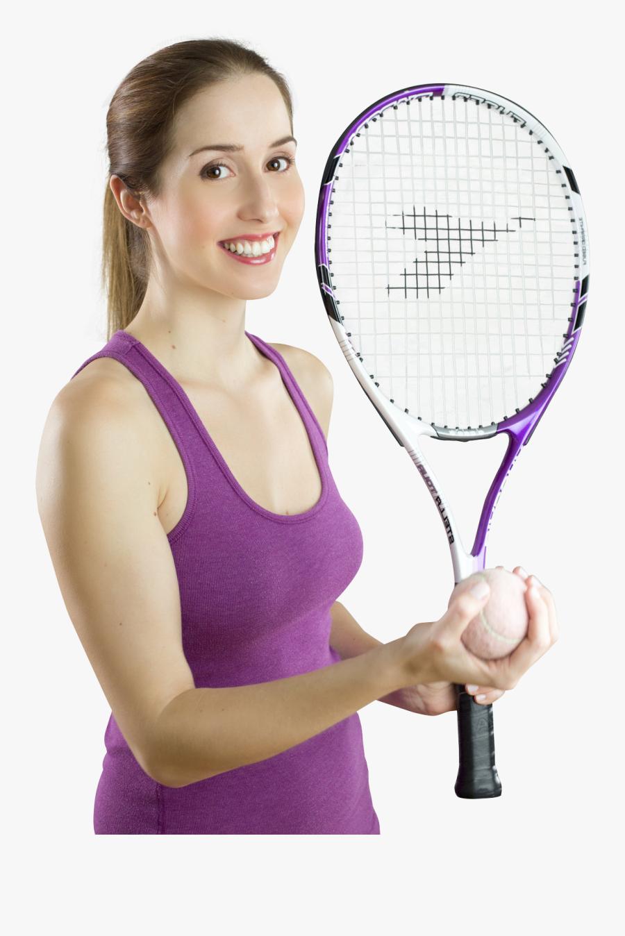 Tennis Sport Player Png, Transparent Clipart