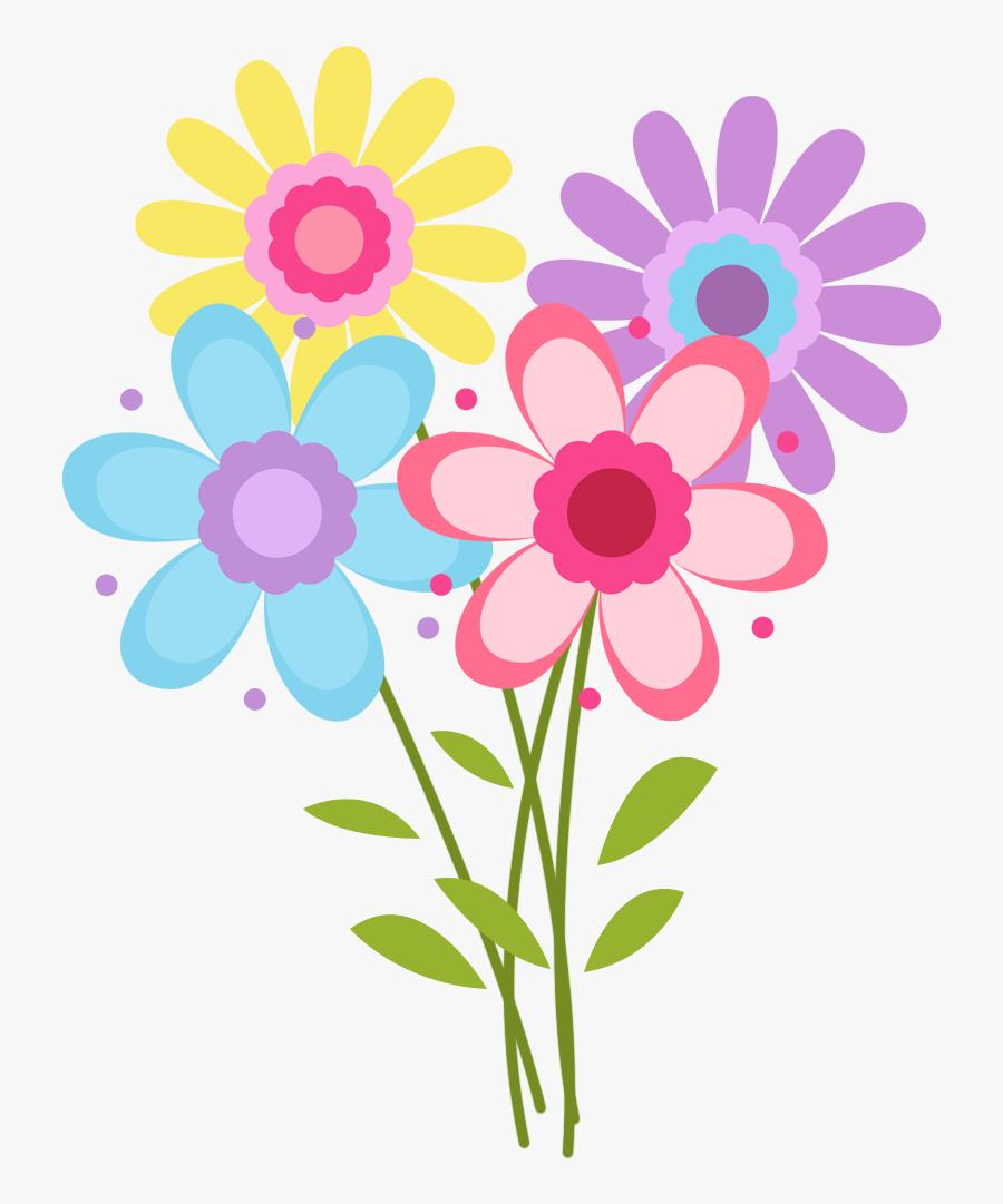 Flower Power Trees Clipart, Transparent Clipart