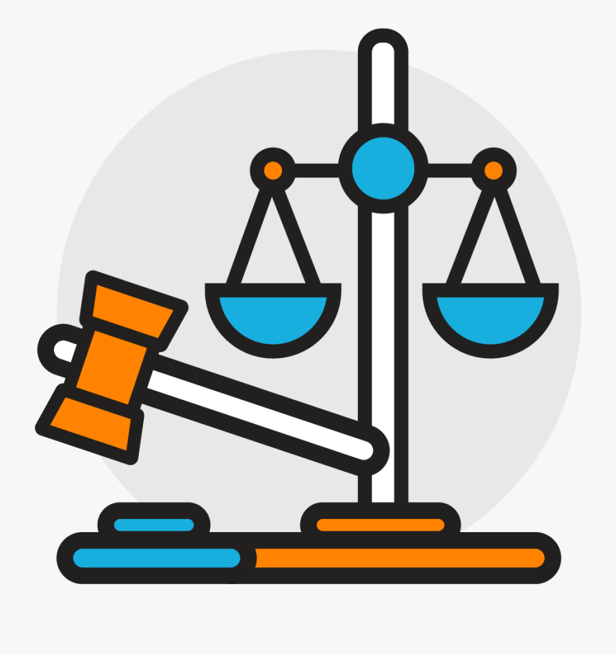 Legak Icon - Cyber Security Law Icon, Transparent Clipart