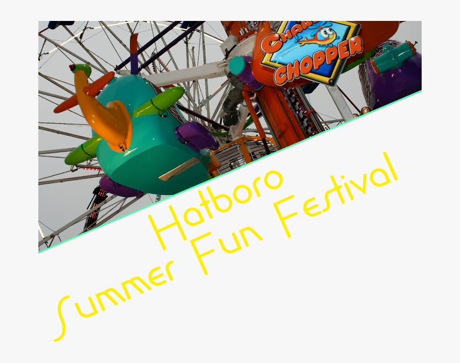 Summer Fun Festival - Water Park, Transparent Clipart