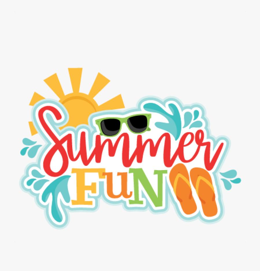 Permalink To Summer Fun Clipart - Transparent Summer Clip Art, Transparent Clipart