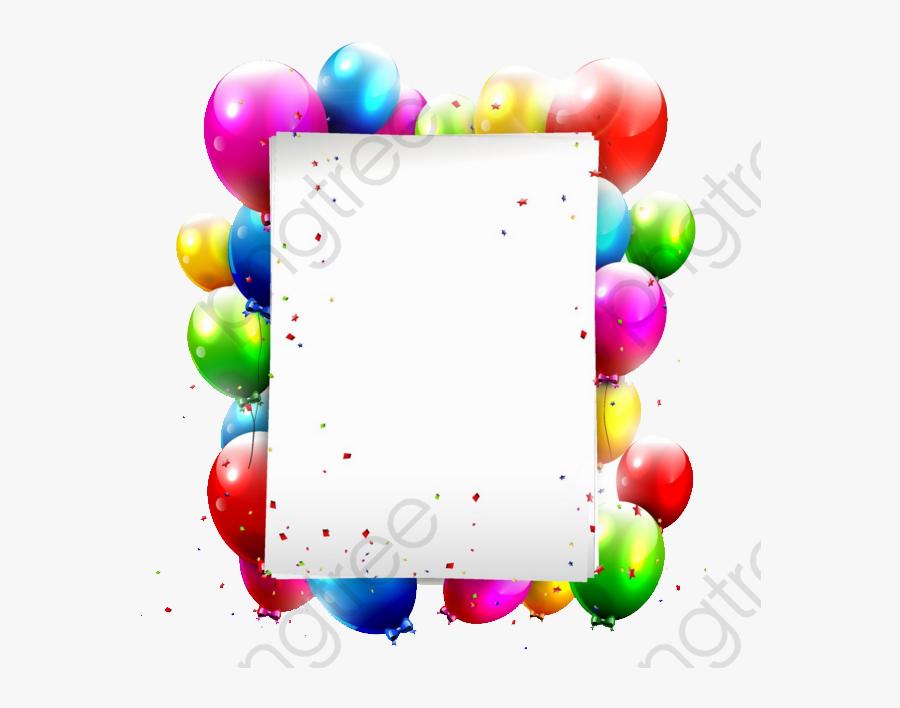 Birthday Balloons - Поздравление С Днем Рождения Тракториста, Transparent Clipart