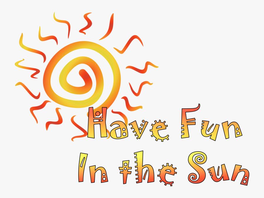 Fun In The Sun, Transparent Clipart