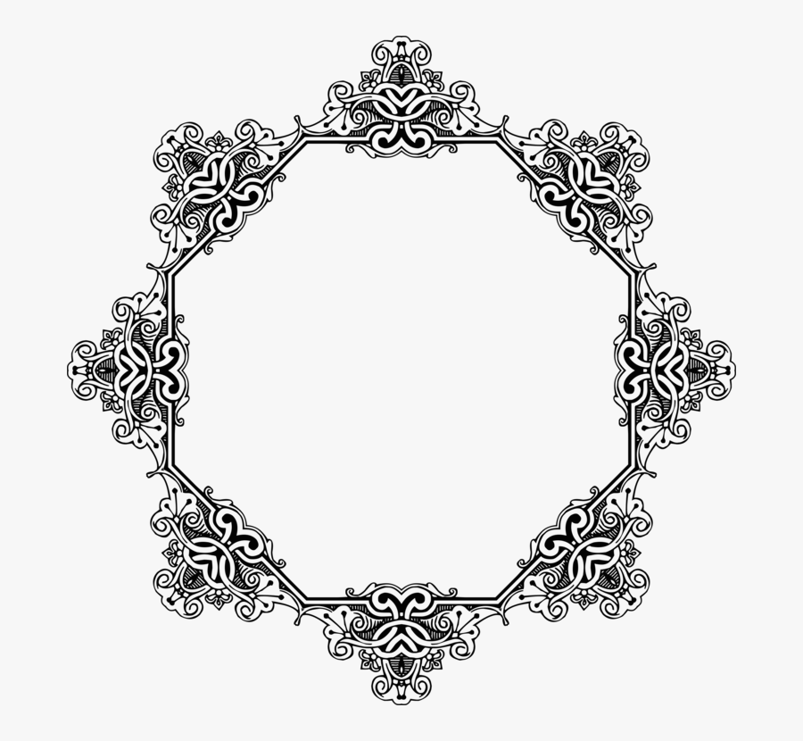 All Photo Png Clipart - Page Border Design For Black And White, Transparent Clipart