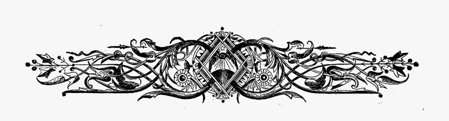Clip Art Fancy Design Kordur Moorddiner - Fancy Border Designs, Transparent Clipart