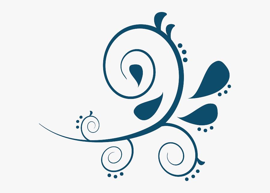 Transparent Free Fancy Scrolls Clipart - Free Paisley Clip Art, Transparent Clipart
