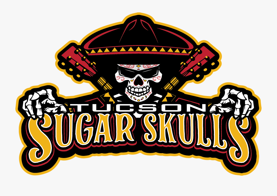 Tucson Sugar Skulls Football, Transparent Clipart