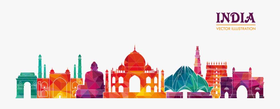 Cuisine Vector Business Food Travel Illustration Indian - Travel India, Transparent Clipart