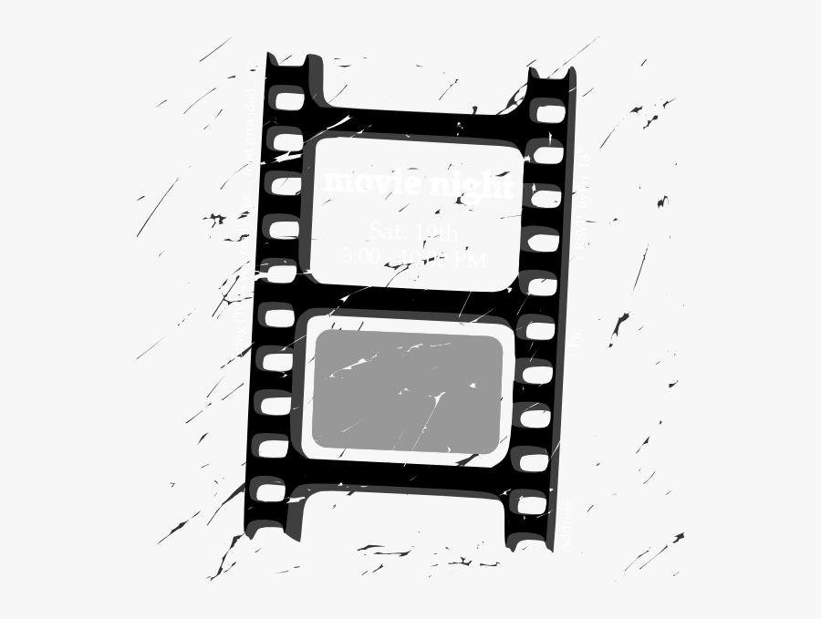 Film Strip Clip Art At Clker - Movie Film Reel Transparent, Transparent Clipart