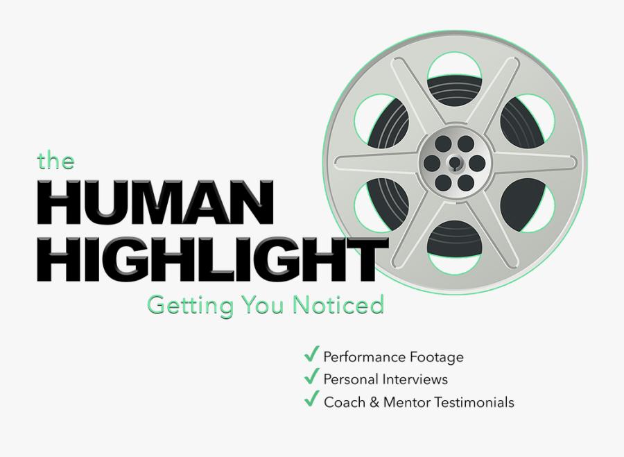 Scar Hill Media Human Highlight Reel Video Production - Movie Reel Clip Art, Transparent Clipart