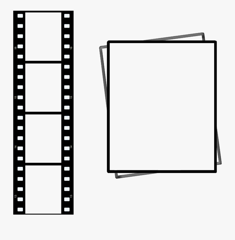 Movie Reel Border Clipart Best - Movie Film Vertical Png, Transparent Clipart