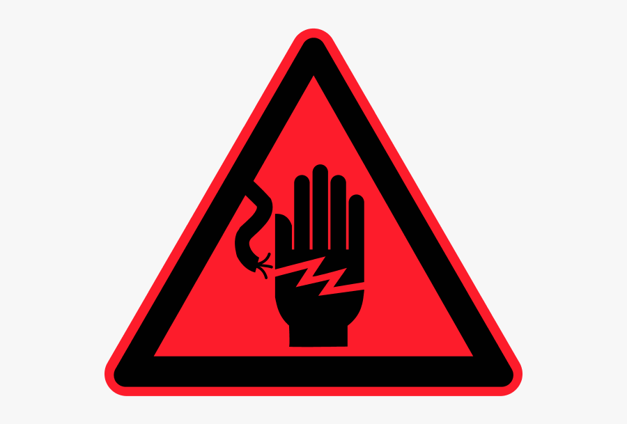 Electrical Safety Symbols Clip Art - Electricity Safety Cliparts, Transparent Clipart