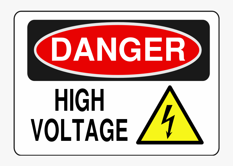 Danger High Voltage Clipart - Danger High Voltage Free, Transparent Clipart