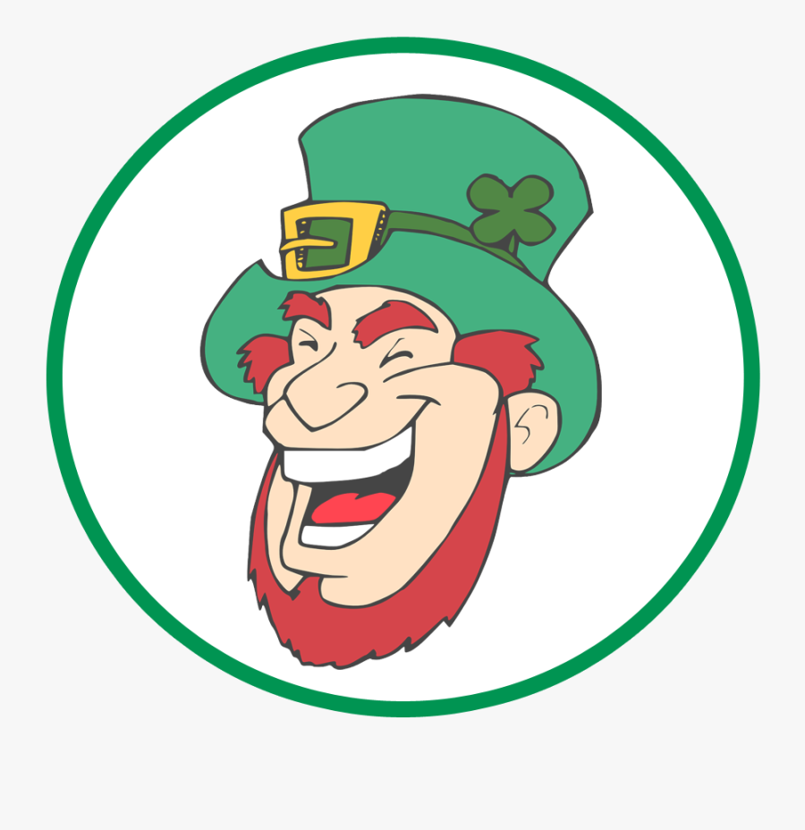 Help The Leprechaun Find The Gold In A Treasure Map - Laughing Leprechaun, Transparent Clipart