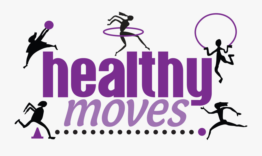 Healthy Moves - Graphic Design, Transparent Clipart