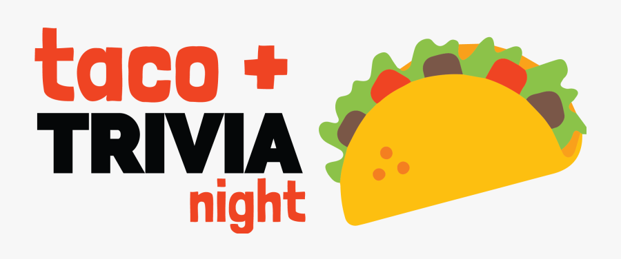 Picture - Taco And Trivia Night, Transparent Clipart