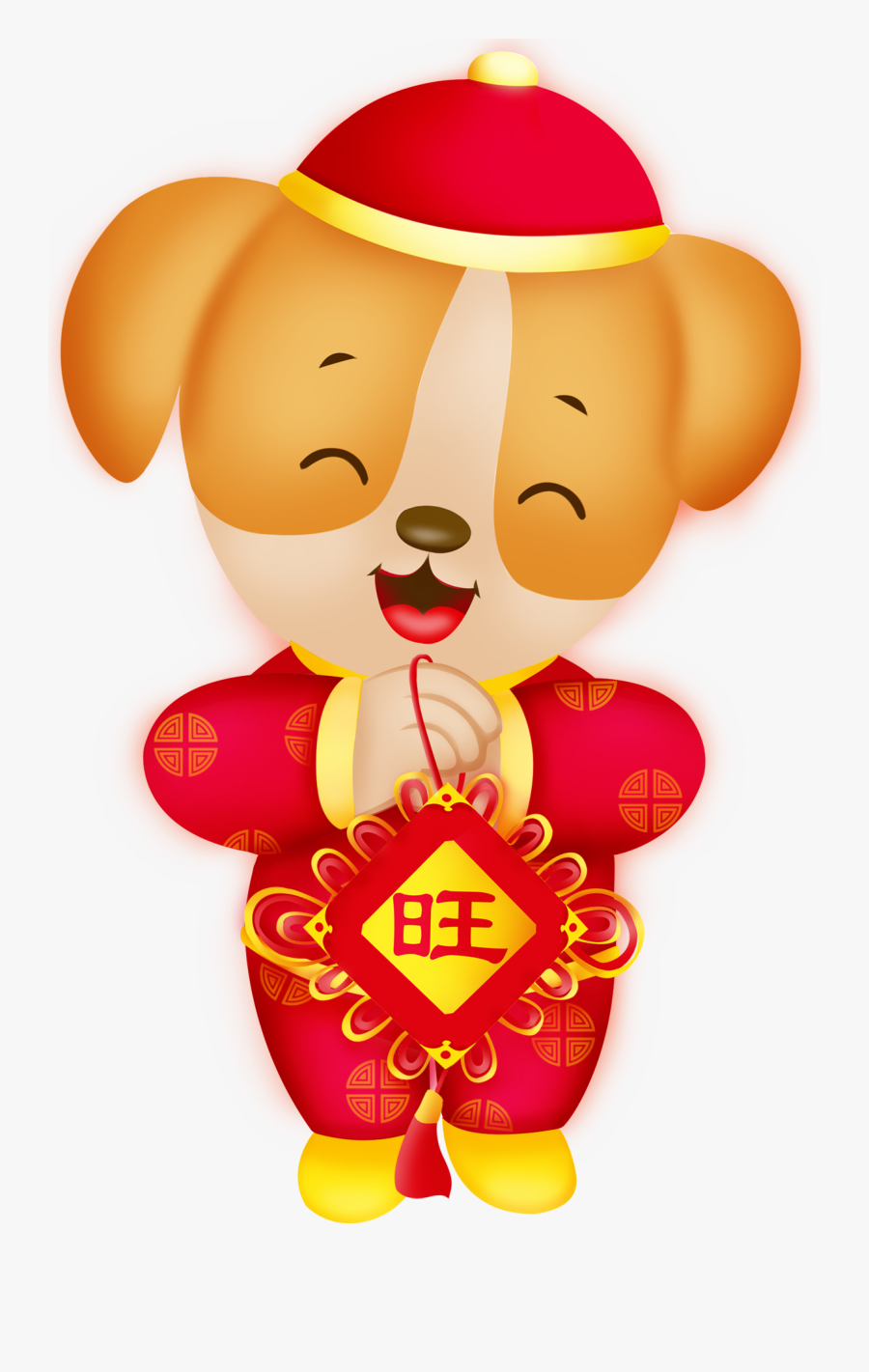 Chinese New Year, Transparent Clipart