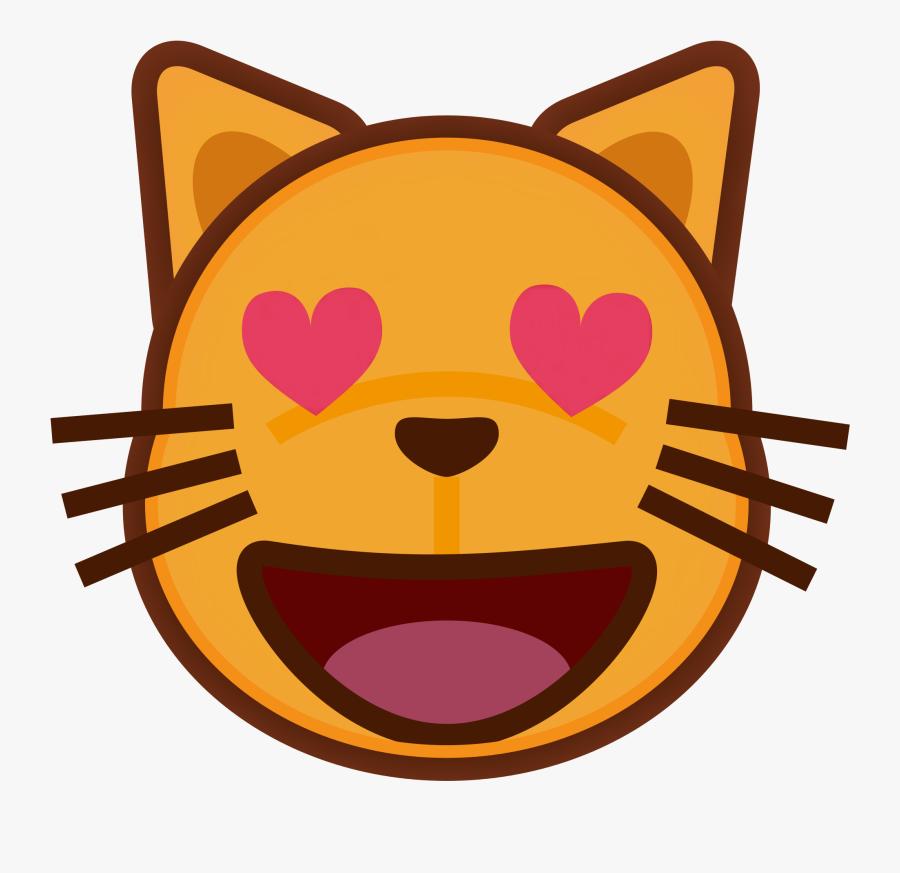 Cat Open Mouth Cartoon, Transparent Clipart