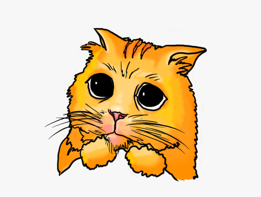 Clip Freeuse Library Corgi Clipart Face Cute Sad Cat Cartoon