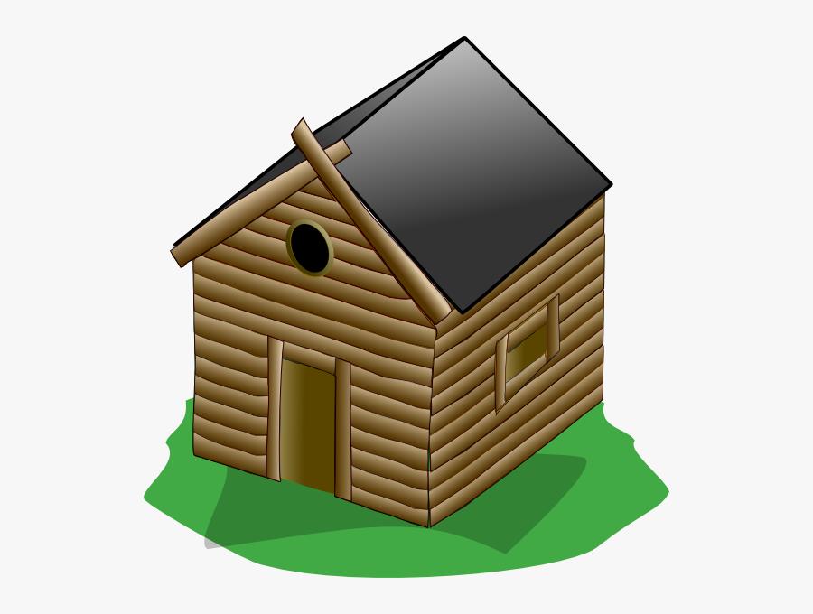Wooden House Clipart Transparent, Transparent Clipart