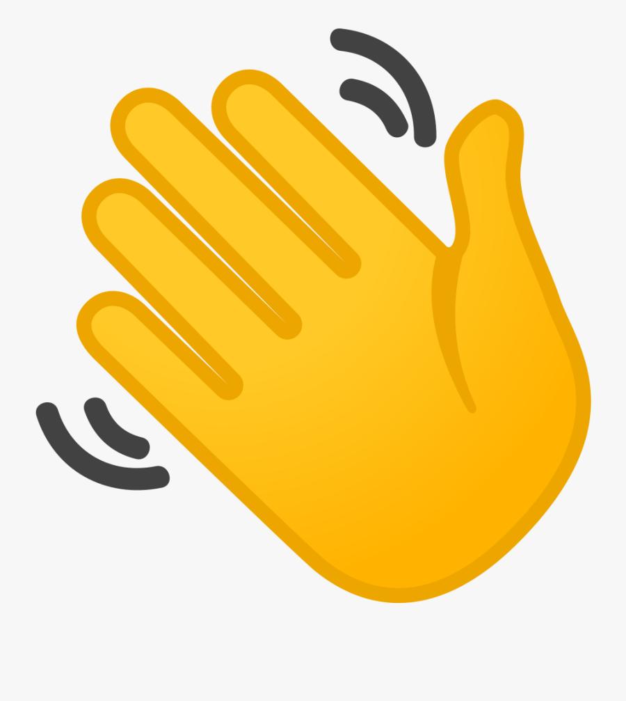 Transparent Waving Goodbye Clipart - Hand Waving Clip Art ...