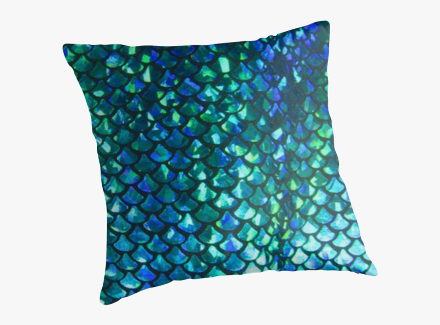 Mermaid Fish Scale Spandex - Blue And Green Fish Scales, Transparent Clipart