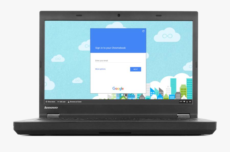 Computer Clip Chromebook - Chrome Os Cloudready, Transparent Clipart
