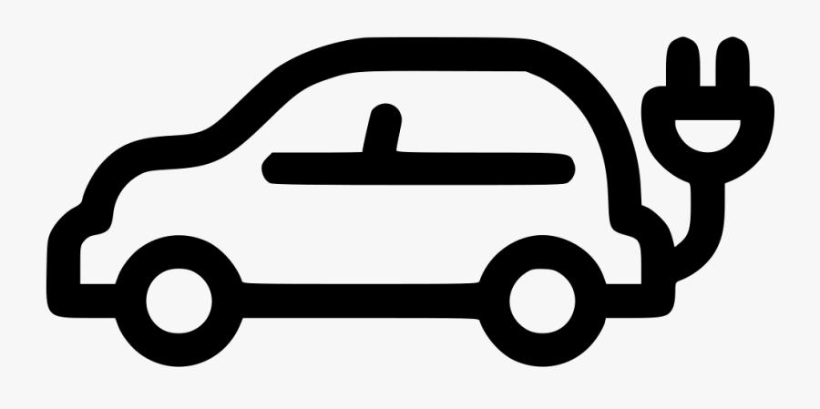 Electric Car Comments - Electric Car Icon Png, Transparent Clipart