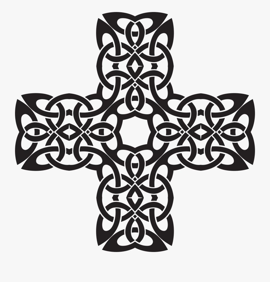Celtic Cross Clipart - Transparent Png Stamp Celtic Cross, Transparent Clipart