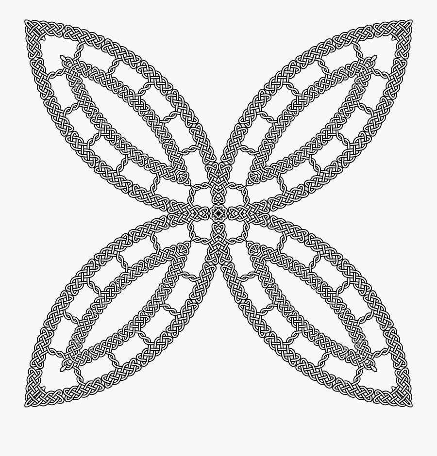 Celtic Knot Clipart Celtic Knot - Round Geometric Patterns Png, Transparent Clipart
