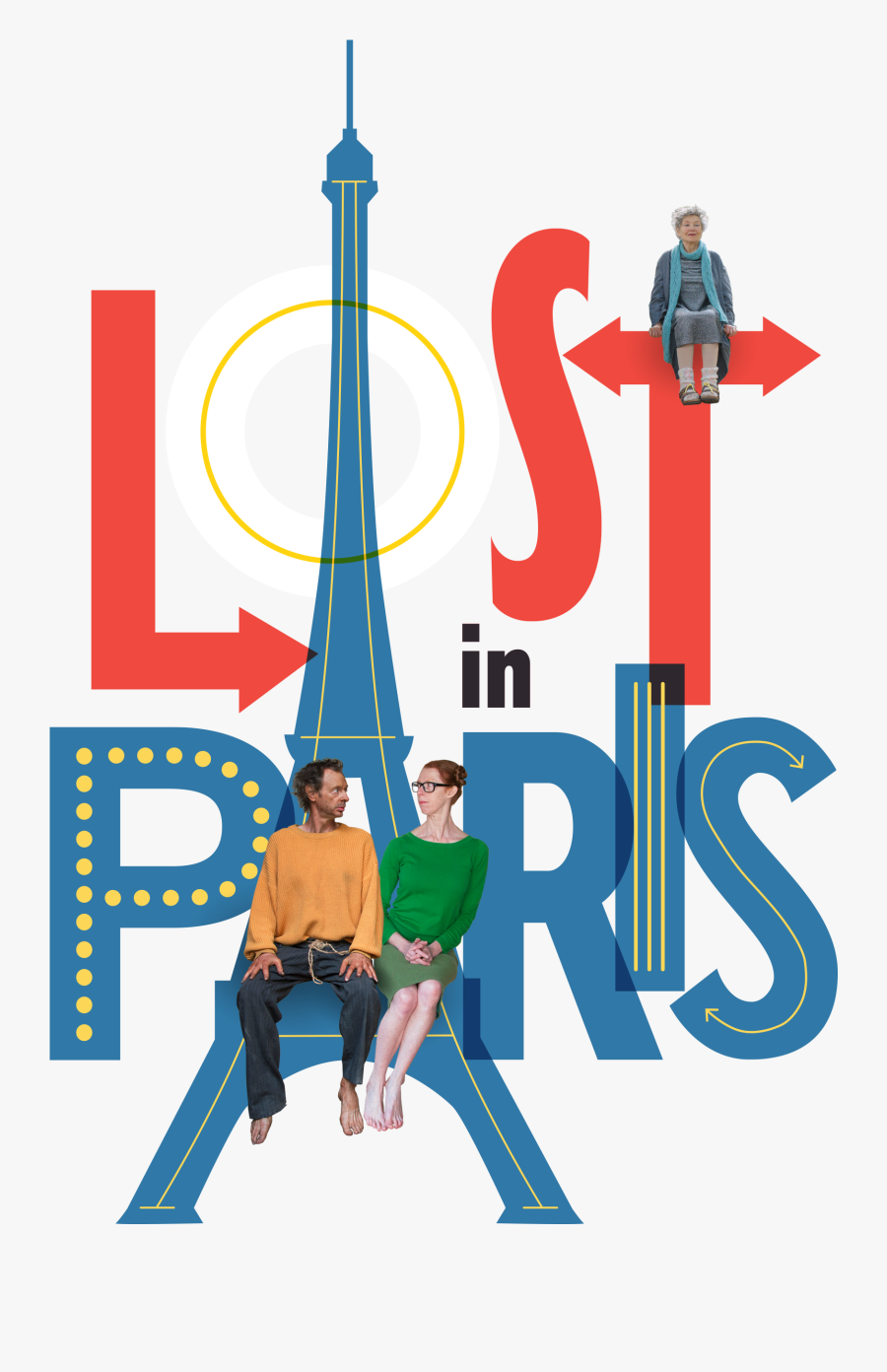 Dvd Cover Lost In Paris Clipart , Png Download - Lost In Paris Clip Art, Transparent Clipart