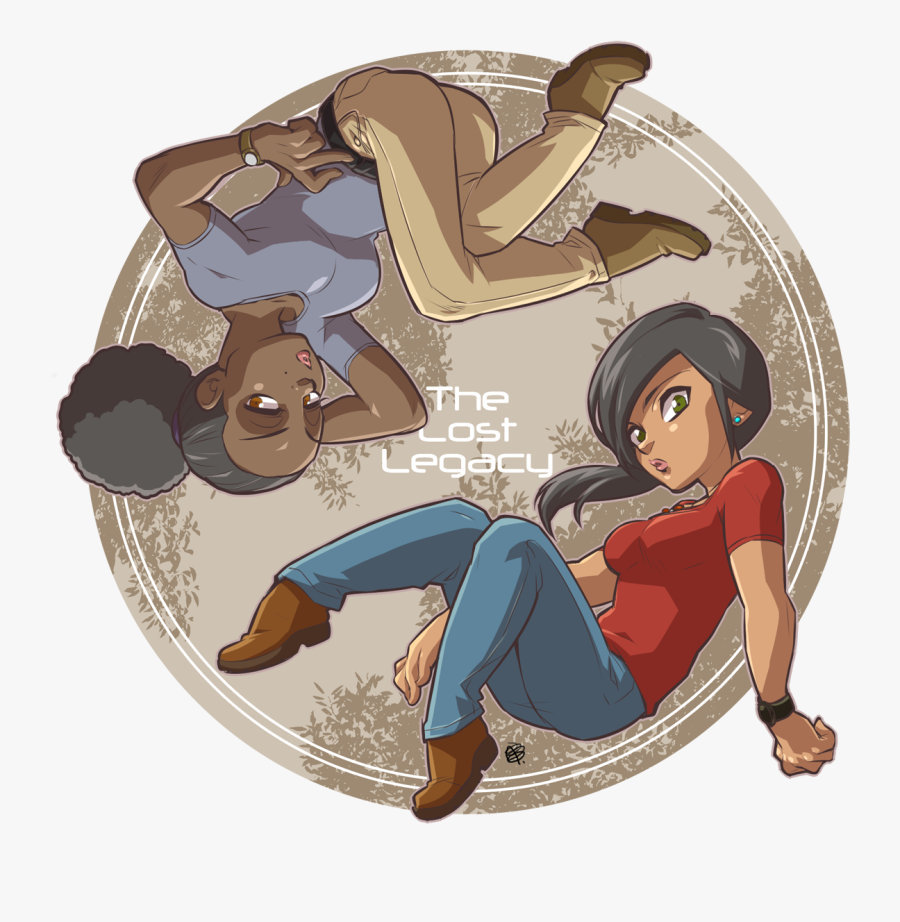Transparent Uncharted Png - Uncharted The Lost Legacy Anime, Transparent Clipart