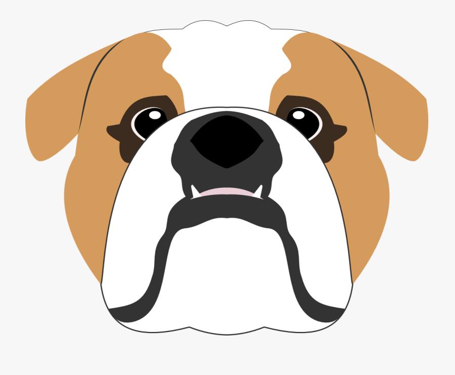 Bull Dog Vector Png, Transparent Clipart