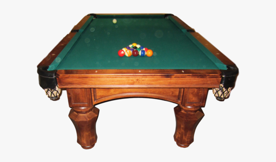 Pool Table Png Page - Pool Table Side View, Transparent Clipart