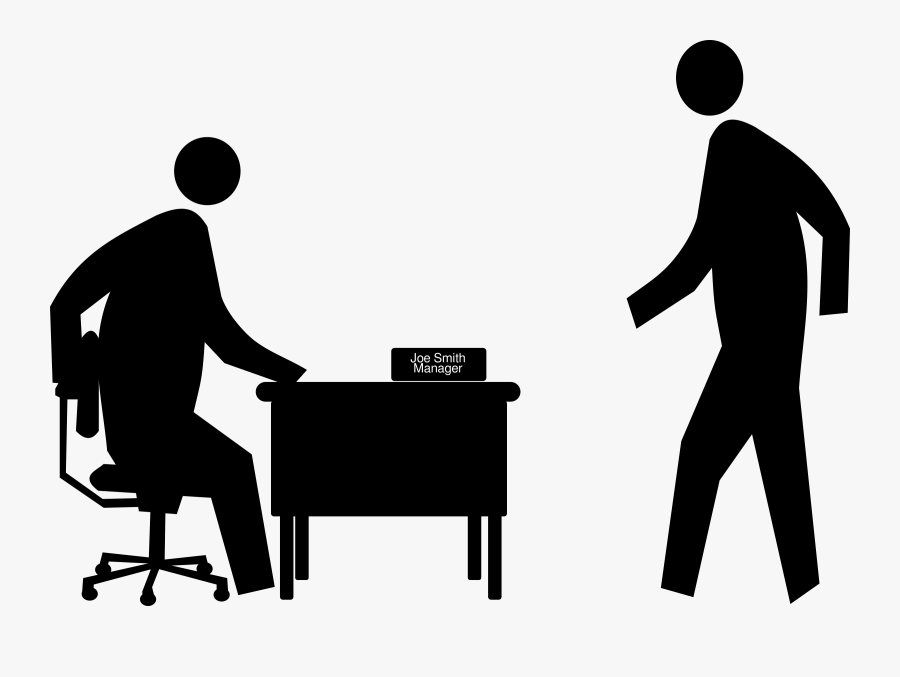 Thumb Image - Manager Clipart Black And White, Transparent Clipart