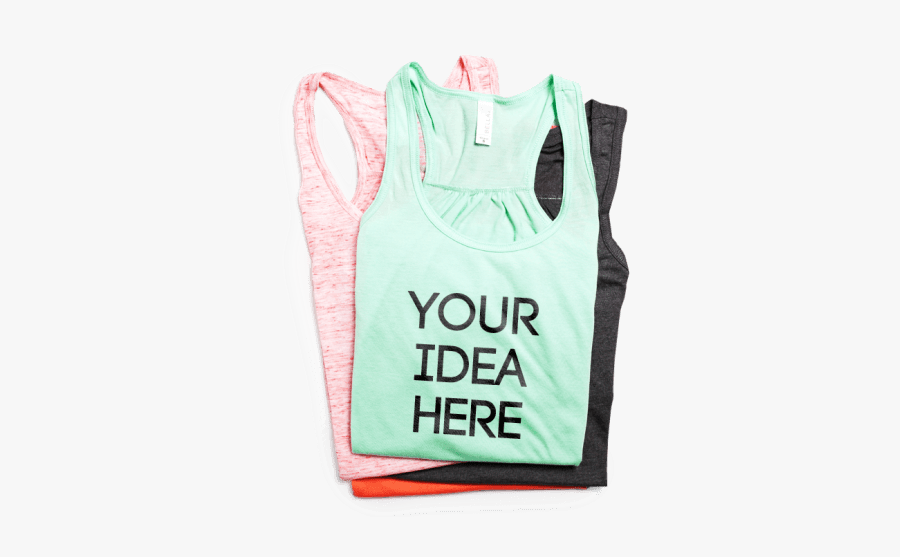 Clipart Library Library Transparent Shirts Tank Top - Custom Tank Top, Transparent Clipart